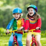 casco bici bambino