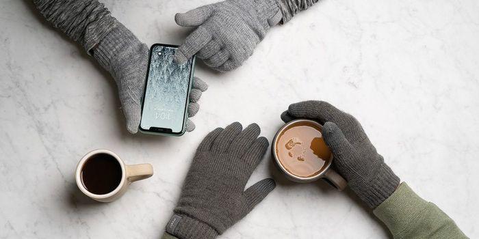 guanti touch screen